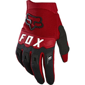 Fox Dirtpaw Guanti Ragazzi, flame red